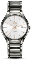 Rado True Automatic Plasma High Tech Ceramic White Dial Watch, 40mm