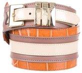 Versace Embossed Waist Belt w/ Tags