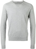 Paolo Pecora cut-out detail jumper - men - Cotton - S