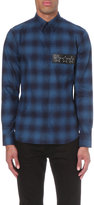 Givenchy Plaid Cotton-flannel Shirt