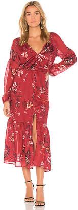 The Jetset Diaries Autumn Maxi Dress