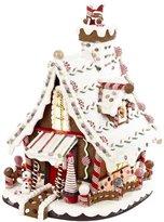 Kurt Adler Lighted Christmas Gingerbread house, 12-Inch