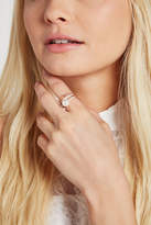 BCBGeneration Faux-Pearl Spike Pave Ring