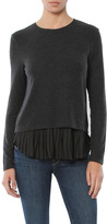 Generation Love Wilma Long Sleeve Top With Pleated Layer