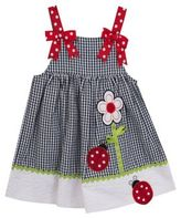Rare Editions Little Girl's Flower and Lady Bug Dress
