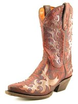 Dan Post Zephyr Women Pointed Toe Leather Red Western Boot.