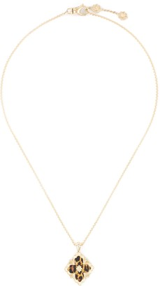 Buccellati 'Opera Color' leopard yellow gold necklace Limited edition
