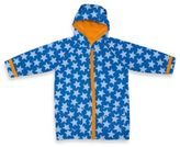 I Play Child Midweight Raincoat in Blue Star