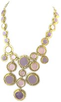 Dolce Vita Necklace 'french touch' 'Judith' golden purple.