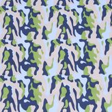 Bacati Camouflage Air Fitted Crib Sheet