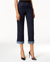 Style&Co. Style & Co. Petite Curvy Rinse Wash Capri Jeans, Only at Macy's