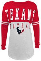 5th & Ocean Women's Houston Texans Sweeper T-Shirt