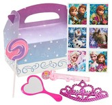 BuySeasons Disney Frozen Princess Birthday Filled Party Favor Box