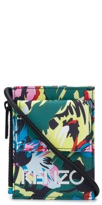 Kenzo x Vans floral-print lanyard pouch