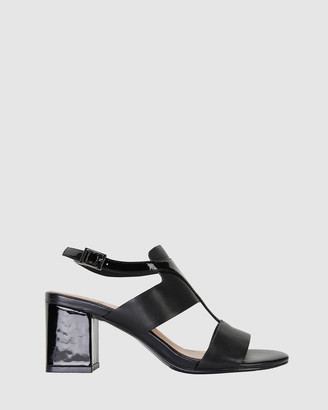 Jane Debster - Women's Black Open Toe Heels - Nitro - Size One Size, 37 at The Iconic