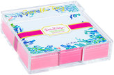 Lilly Pulitzer Acrylic Holder And Loose Notes