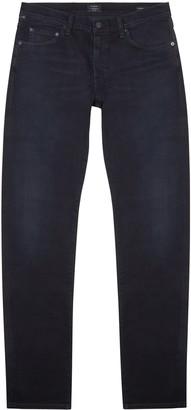 Citizens of Humanity London dark blue slim-leg jeans