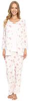 Carole Hochman Three-Piece Capris Pajama Set