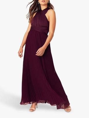 Oasis Wear It Maxi Dress, Burgundy