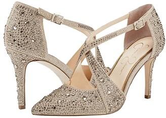 Jessica Simpson Accile (Navy) Women's Shoes