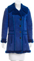 Balenciaga Shearling Short Coat