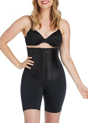 Spanx Under Sculpture High-Waist Mid-Thigh Corset Shaper Shorts