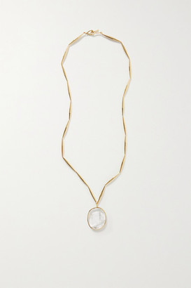 Tohum Lumia Gold-plated And Crystal Necklace - one size