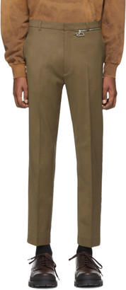 Cmmn Swdn Green Samson Zip Trousers