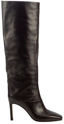 Jimmy Choo Mahesa Tall Leather Boots