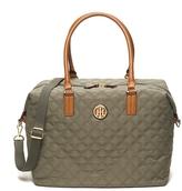 Tommy Hilfiger Quilted Weekender Bag