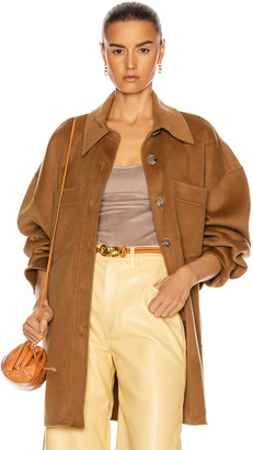 Nanushka Martin Jacket in Light Brown | FWRD