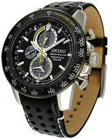 Seiko Men's SSC361 Leather Quartz Watch