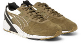 Asics - + Monkey Time Gel-sight Suede Sneakers