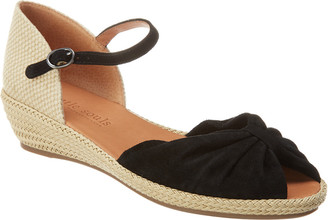 Gentle Souls Lucille Suede Wedge Sandal