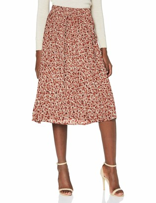 Pieces Women's PCRAYA HW MIDI Skirt