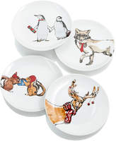 The Cellar Set of 4 Sentiments Salad Plates, Created for Macy's