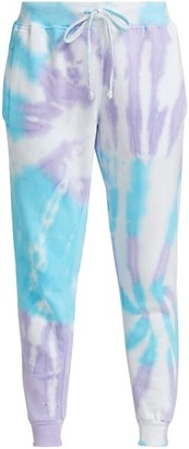 Worthy Threads Mermaid Tie-Dye Joggers
