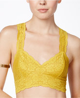 Free People Lace Halter Bralette F040O835