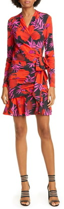 Veronica Beard Lorina Floral Silk Blend MIni Dress
