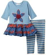 Mimi & Maggie Nicola Dress & Leggings 2-Piece Set (Baby & Toddler Girls)