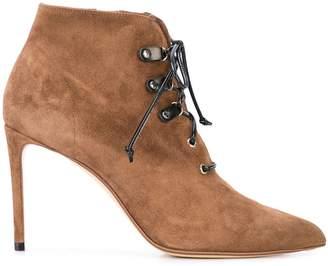Francesco Russo stiletto ankle boots