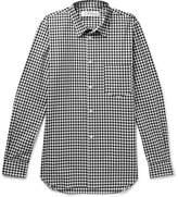 Comme des Garcons Slim-Fit Gingham Cotton-Poplin Shirt