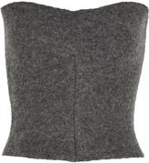 Stella McCartney Wool-blend bustier top