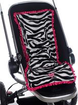 Black & Pink Zebra 3-in-1 Stroller Pad