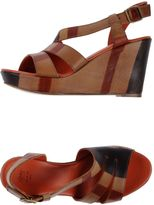 Henry Cuir Sandals
