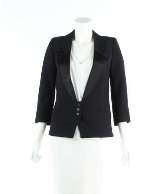 Smythe Black Wool Jacket for Women