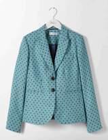 Boden Elizabeth British Tweed Blazer