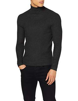 Antony Morato Men's Maglia A Coste Collo Alto Jumper,X-Large