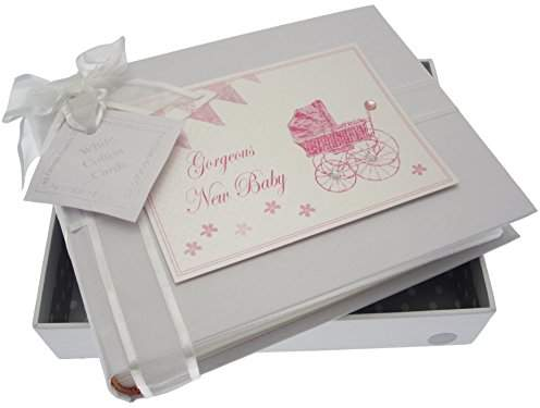 Kitted Out Boo Bunny Medium Photo Album Pink