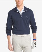 Izod Men's Quarter Zip Chip Shot Golf Shirt